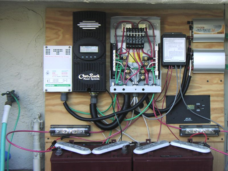 A Modest Solar Panel Setup And How Well It Performs